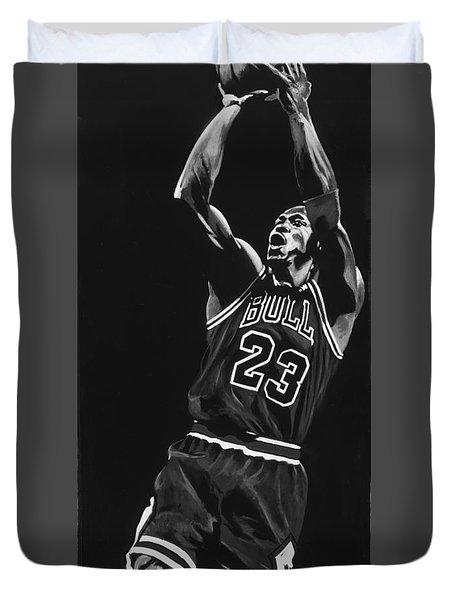 Michael Jordan Duvet Cover