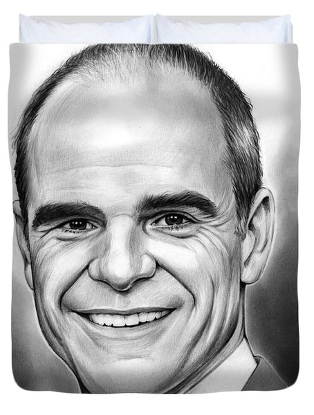 Michael Kelly Duvet Cover