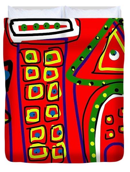 Michael Landon Little House On The Prairie Duvet Cover