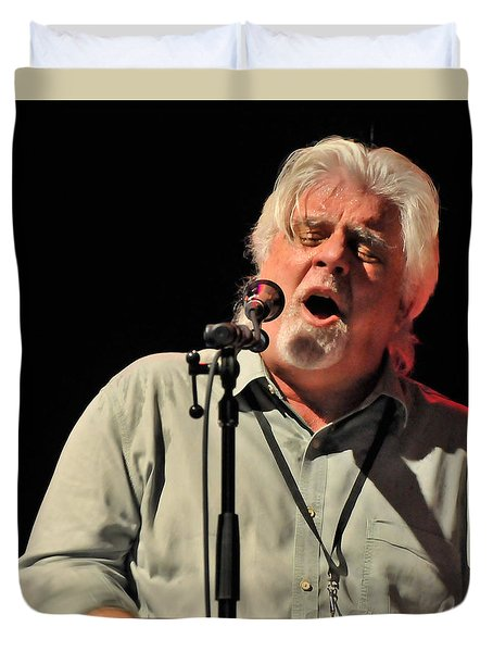 Michael Mcdonald At Tampa Bay Duvet Cover