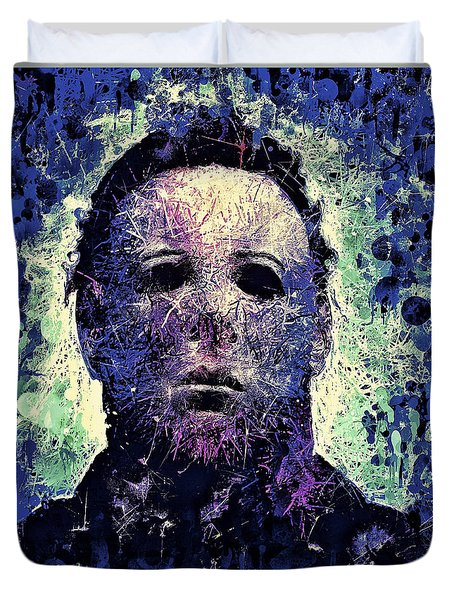 Michael Myers Duvet Cover