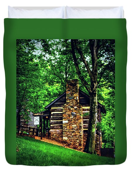 Michie Tavern No. 2 Duvet Cover by Laura DAddona