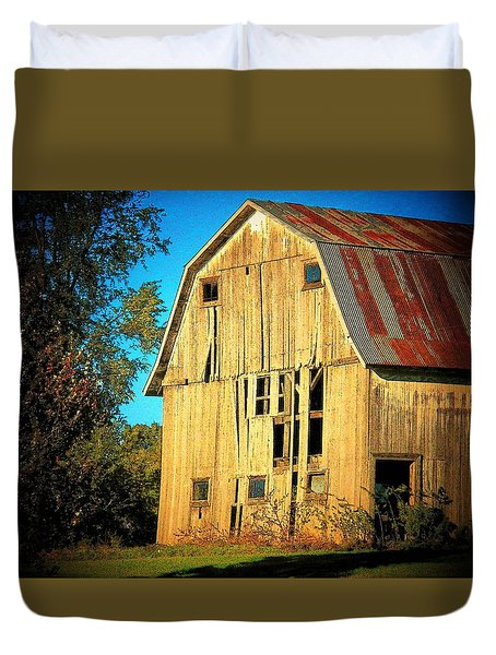 Michigan Barn Duvet Cover by Joyce Kimble Smith