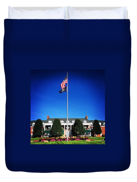 Michigan Masonic Home Duvet Cover