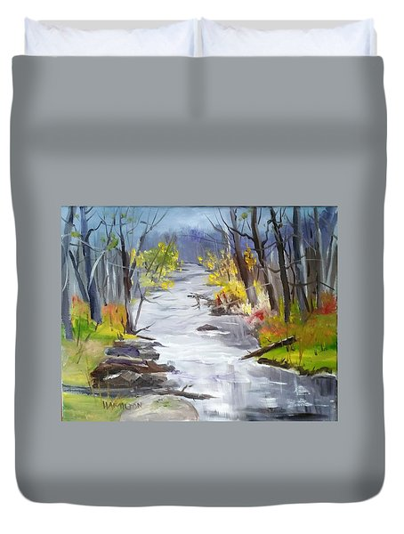 Michigan Stream Duvet Cover