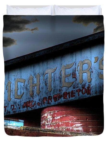 Michter's Brew Duvet Cover by Scott Wyatt