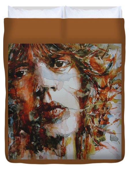 Mick Jagger - Start Me Up  Duvet Cover