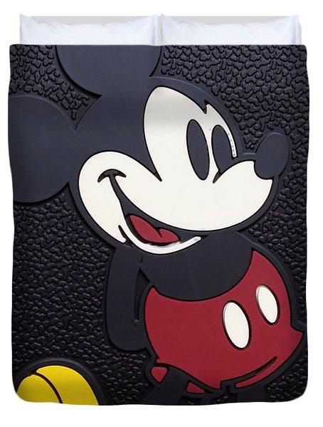 Mickey Mat Duvet Cover