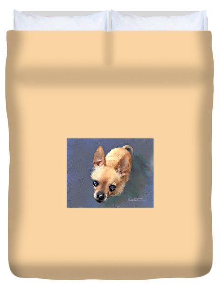 Mickey The Rescue Dog Duvet Cover