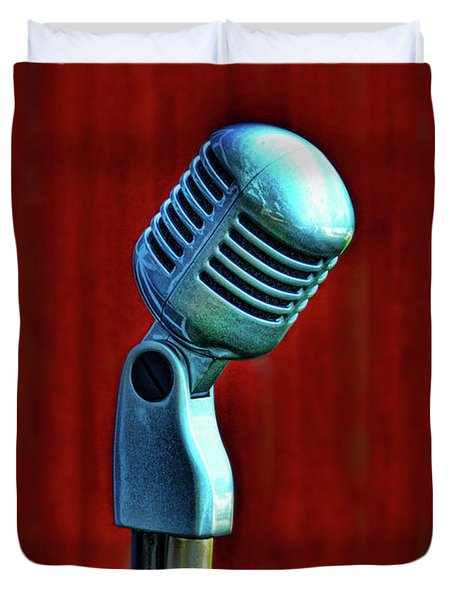 Microphone Duvet Cover