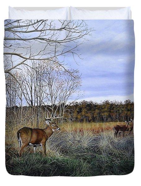 Take Out - Deer Duvet Cover