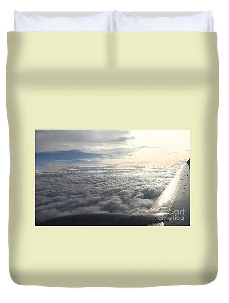 Mid Heaven Flight Duvet Cover