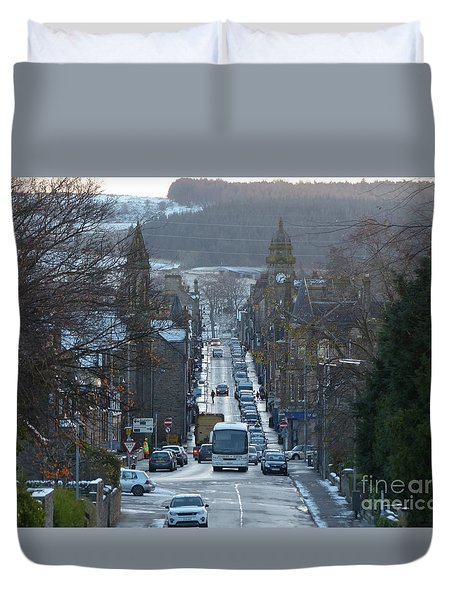Mid Street - Keith - Banffshire Duvet Cover