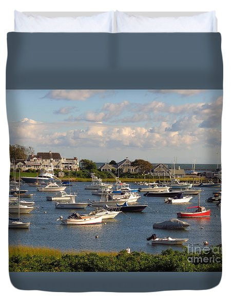 Mid Week At The Cape Duvet Cover