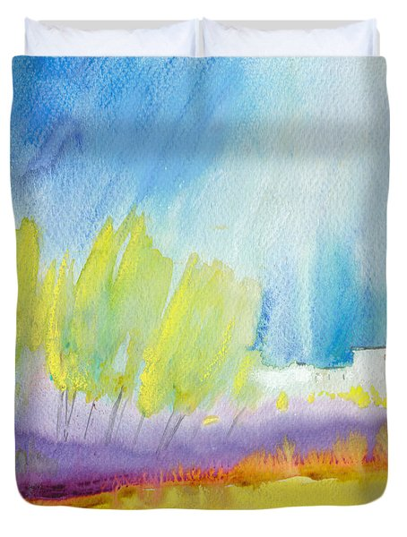 Midday 08 Duvet Cover by Miki De Goodaboom