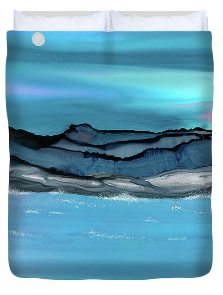 Midday Moon Duvet Cover