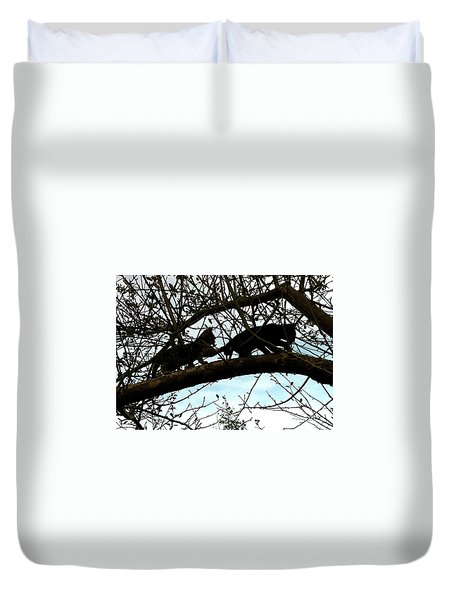 Duvet Cover featuring the photograph Midi 3 by Wilhelm Hufnagl