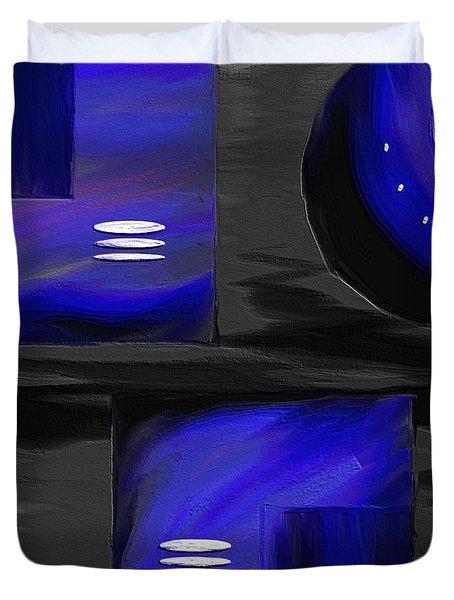 Midnight Duvet Cover