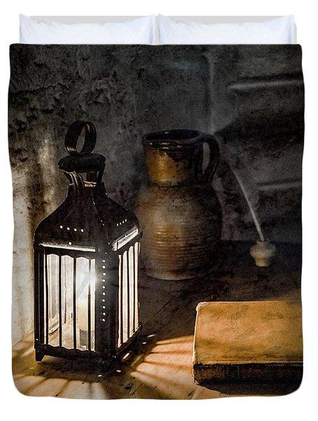 Paris, France - Midnight Oil Duvet Cover