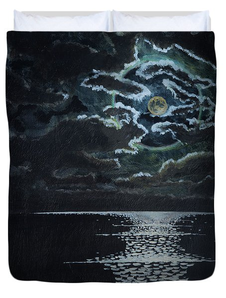 Midnight Passage Duvet Cover