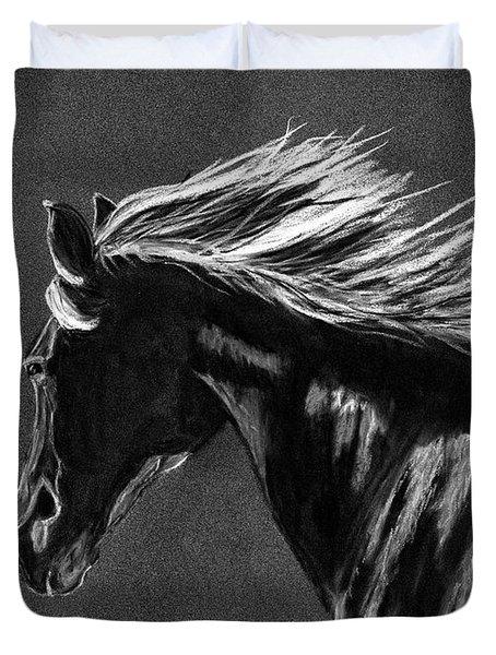 Midnight Ride Duvet Cover