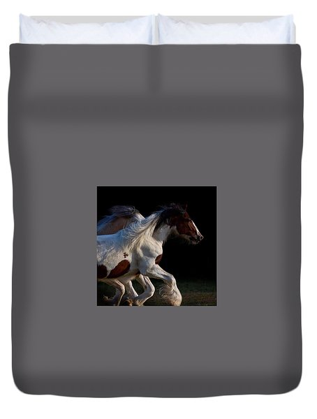 Midnight Run Duvet Cover
