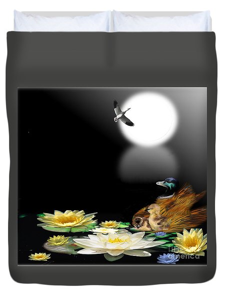 Midnight Serenity Duvet Cover