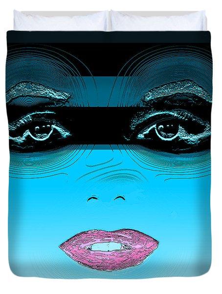 Midnight Swim Duvet Cover by Joy McKenzie