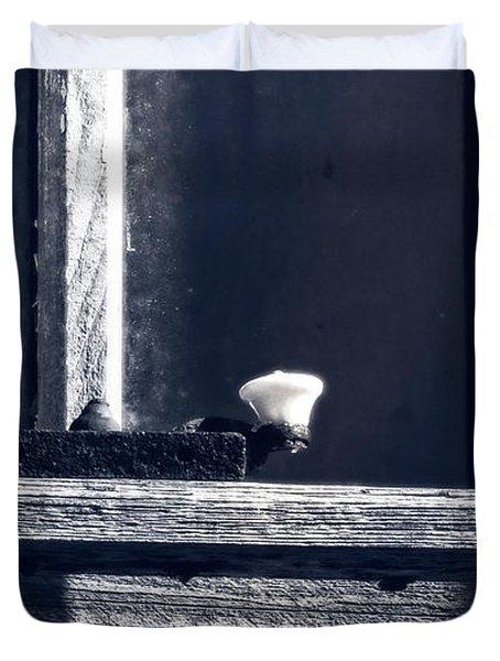 Midnight Window Duvet Cover