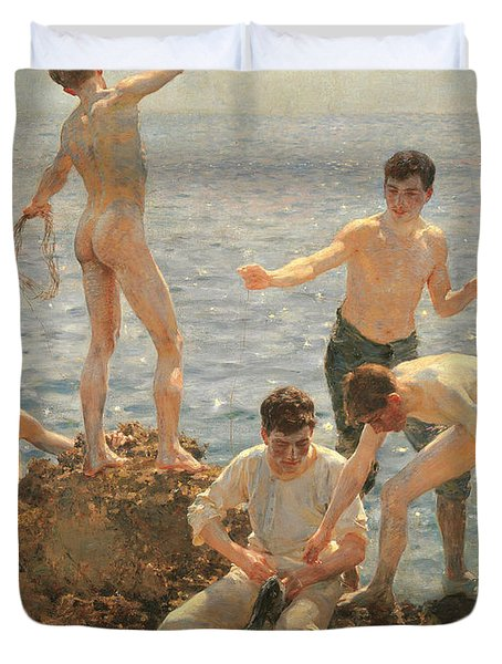 Midsummer Morning, 1908 Duvet Cover