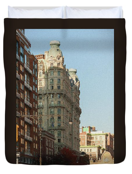Midtown Manhattan Apartments Duvet Cover
