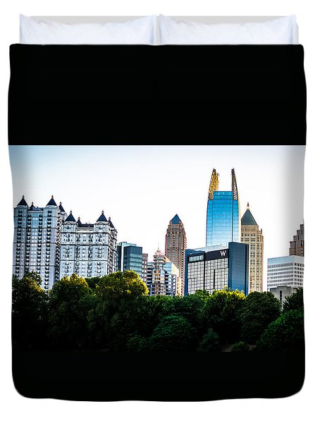 Midtown Skyline Duvet Cover