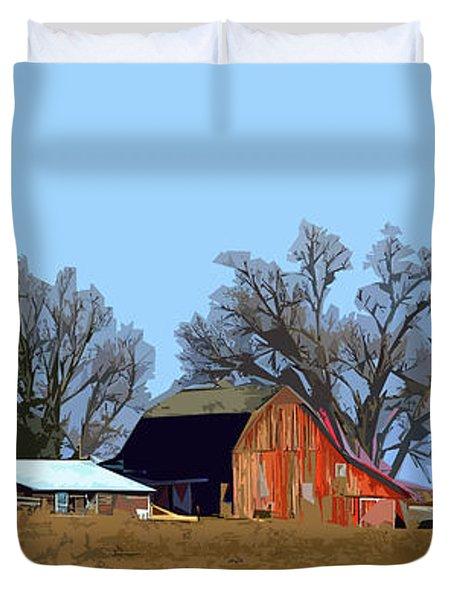 Midwest Farm Duvet Cover