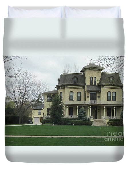 Midwest Home Duvet Cover by Kathie Chicoine