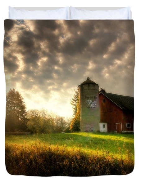 Midwest Morning Duvet Cover