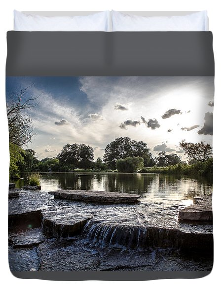 Midwest Sunset Duvet Cover