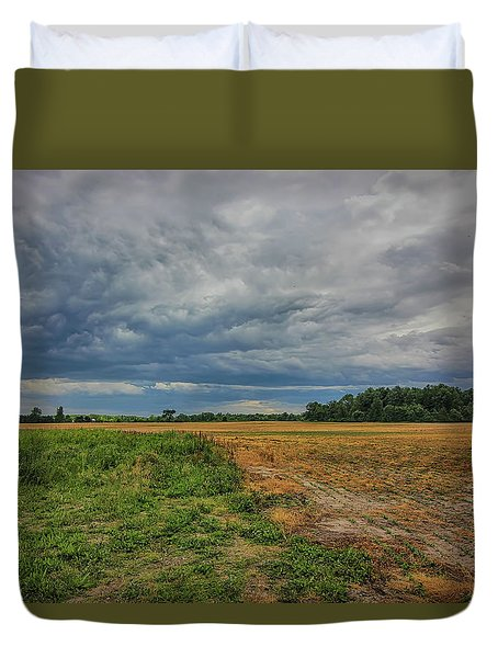 Midwest Weather Duvet Cover