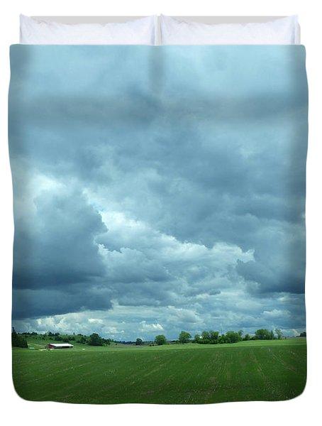 Midwestern Sky Duvet Cover
