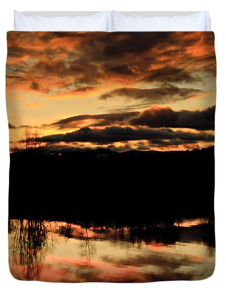 Midwinter Sunrise Duvet Cover