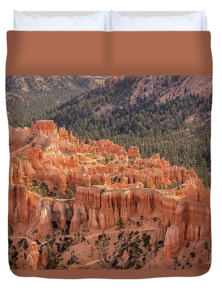 Mighty Fortress Duvet Cover