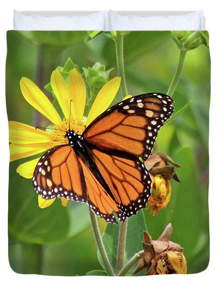 Mighty Monarch   Duvet Cover