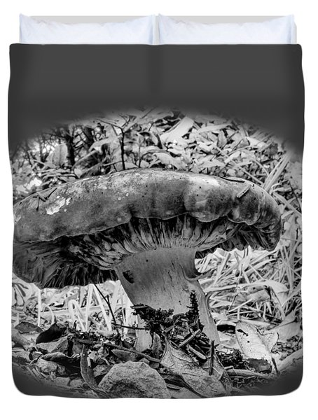 Mighty Mushroom T Shirt Style Duvet Cover