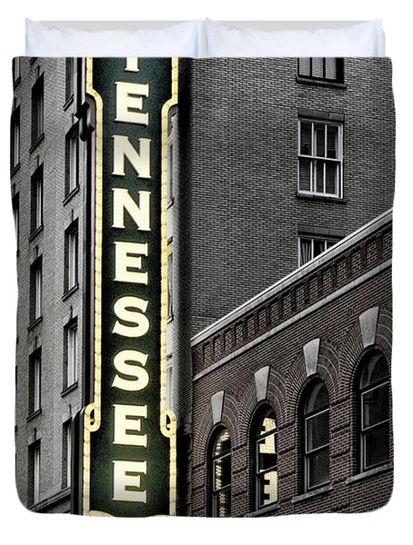 Mighty Tennessee Duvet Cover