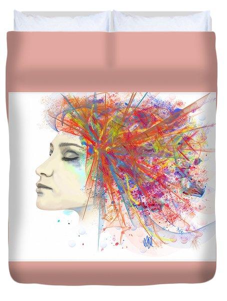 Migraine Duvet Cover by Angela A Stanton