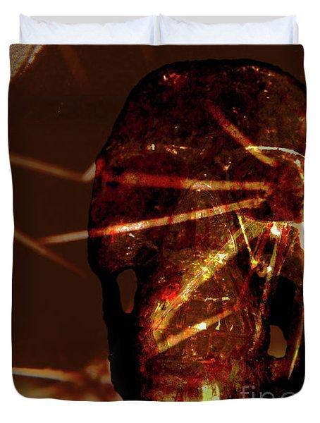 Migraine - The Pierced Skull Duvet Cover
