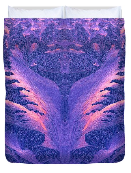 Migration Abstract #1 Duvet Cover