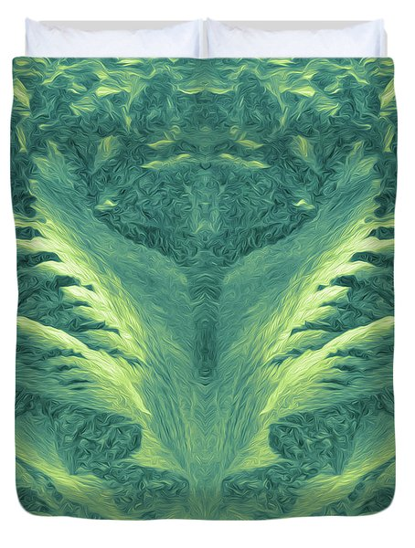 Migration Abstract #4 Duvet Cover