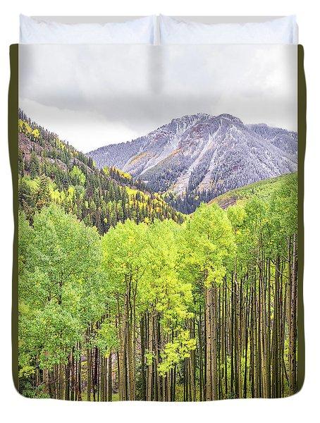 Miguel County Colorado Duvet Cover