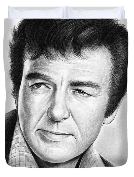Mike Connors Duvet Cover