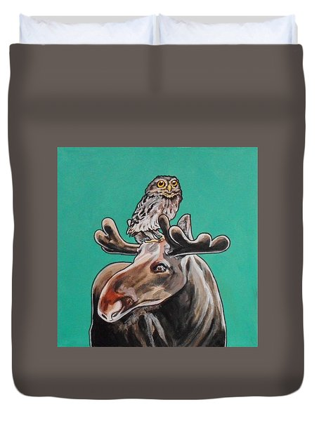 Mike The Moose Duvet Cover